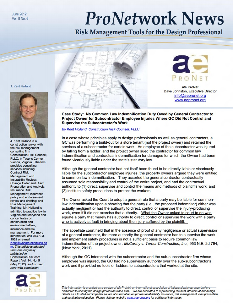 engineers professional liability insurance case study